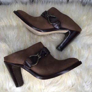 Cole Haan Nike air horsebit heeled mule